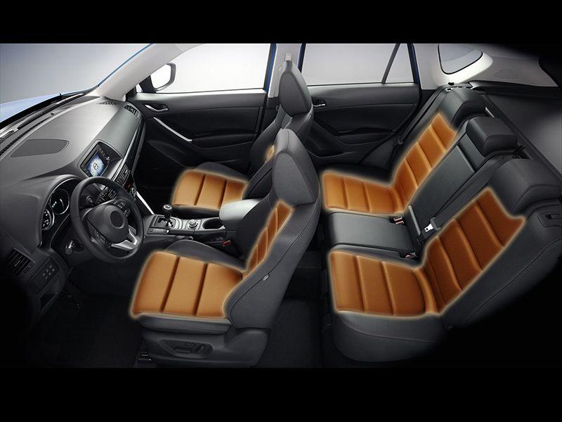 Rhino CF-KEL karbonszálas ülésfűtés, 24V, elektronikás, létrás mintázat