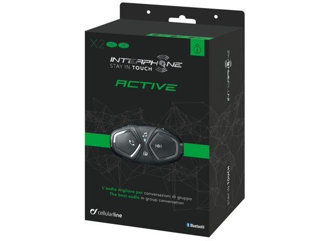 Interphone Active Twin Pack sisakbeszélő