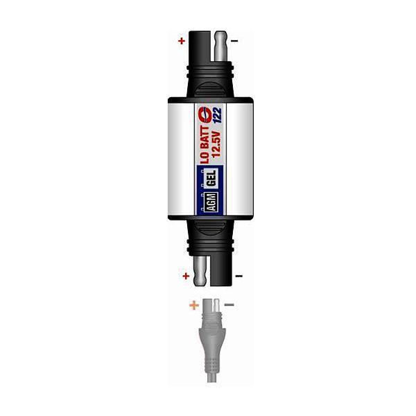 TecMATE O122 állapotjelző zselés akkumulátorokhoz (MF+GEL)
