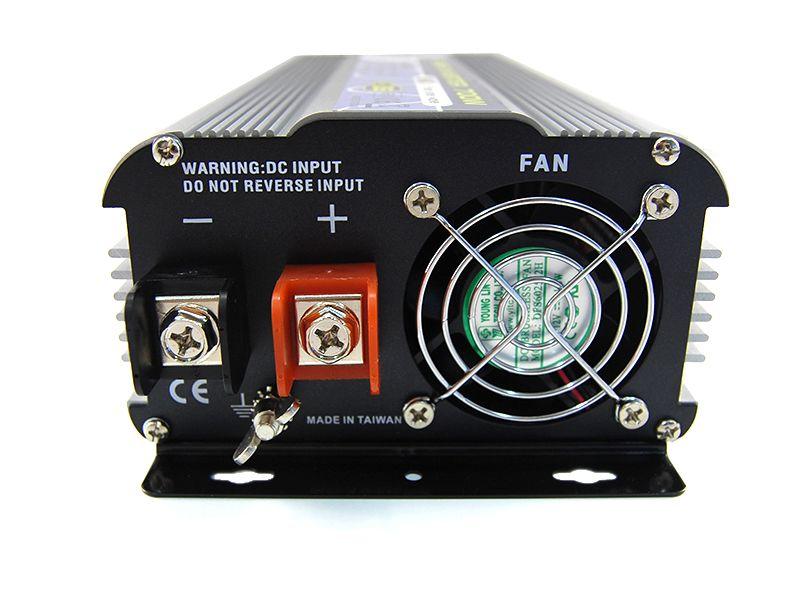 Intelligent SN-350USB szinuszos inverter, 12V, 350W, USB