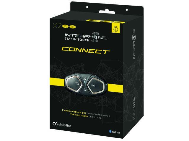 Interphone Connect Twin Pack sisakbeszélő